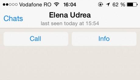 udrea whatsapp