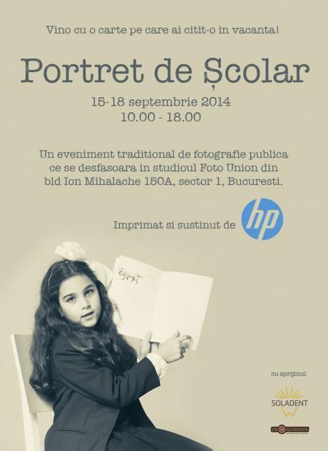 portret de scolar HP