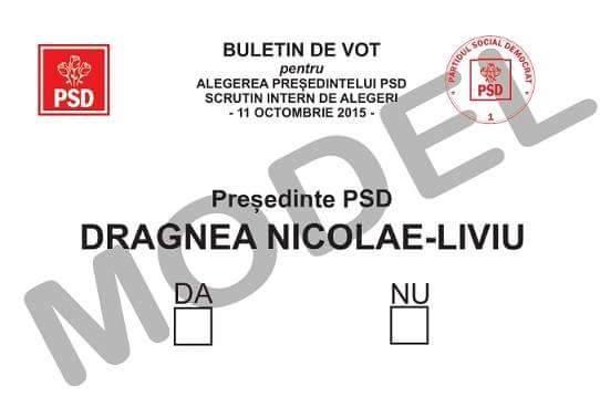 dragnea vot